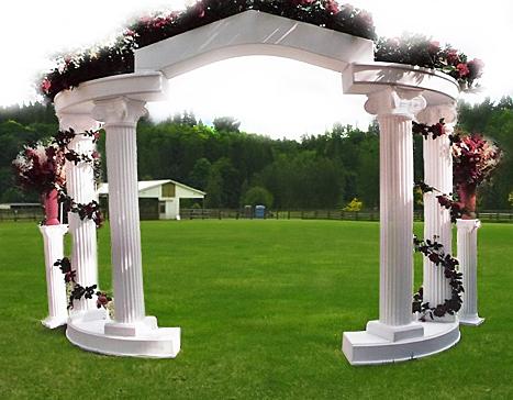 Wedding Colonnades & Arches